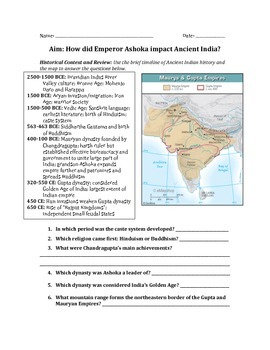 Emperor Ashoka and the Mauryan Empire