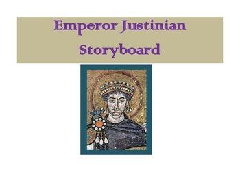 Emperor Justinian Storyboard