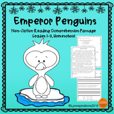 Winter Animals - Emperor Penguins: Reading Comprehension Passage