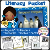Penguins: Emperor Penguins Non-fiction Singable with Literacy Activities
