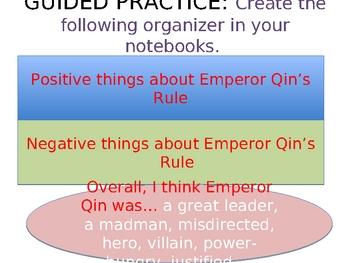 Emperor Qin PowerPoint