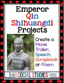 Emperor Qin Shihuangdi (Qin Shi Huang) Emperor of Ancient China - Four Projects