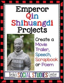 Four Projects - Emperor Qin Shihuangdi (Qin Shi Huang), Fi
