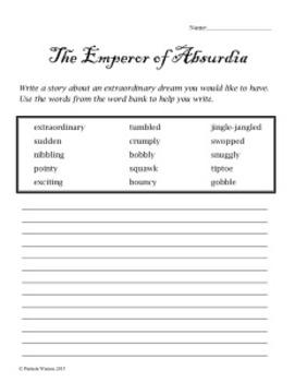 Emperor of Absurdia Companion Unit Worksheets