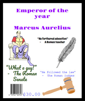 Emperor of the Year Magazine Cover