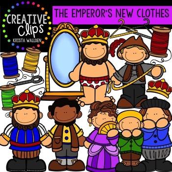 Emperor's New Clothes {Creative Clips Digital Clipart}