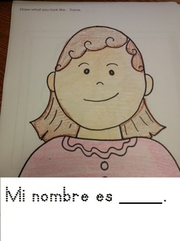 Empezando Kinder Spanish Activity (8pgs)