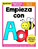 Empieza con Aa {Cut & Paste Emergent Reader}