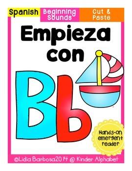 Empieza con Bb {Cut & Paste Emergent Reader}
