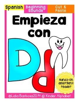 Empieza con Dd {Cut & Paste Emergent Reader}