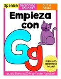 Empieza con Gg {Cut & Paste Emergent Reader}