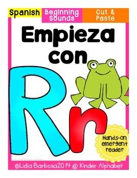 Empieza con Rr {Cut & Paste Emergent Reader}