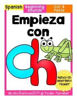 Empieza con ch {Cut & Paste Emergent Reader}