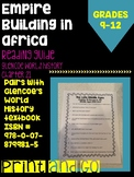 Empire Building in Africa Reading Guide (World History- Glencoe)