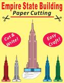 Paper Cutting Craft-Empire State Building