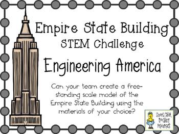 Empire State Building in New York ~ Engineering America ~ STEM Challenge
