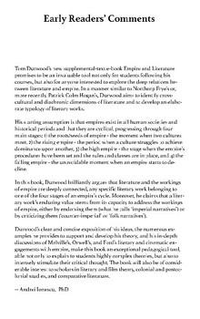 Empire and Literature