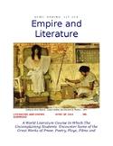 Empire and Literature Lesson Plans