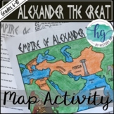 Empire of Alexander the Great Map Activity (Print and Digital)