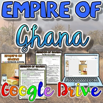 Empire of Ghana Activity {Google Drive}