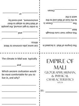 Empire of Mali Study Guide
