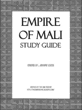 Empire of Mali Study Guide