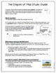 Empire of Mali Study Guide and Review Worksheet