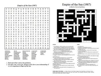Empire of the Sun (1987) - Four Puzzle Bundle