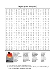 Empire of the Sun (1987) - Vocabulary Word Search