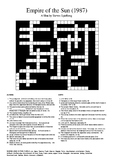 Empire of the Sun - Review Crossword Puzzle