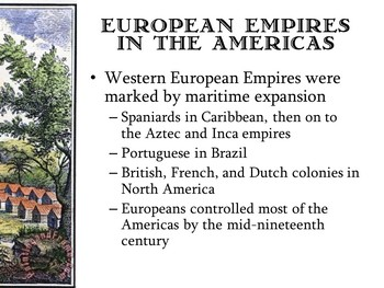 Empires and Encounters; American Colonies, Colonialism, New World Discovery