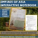 Empires of Asia Interactive Notebook (Tang/Song/Mongols/Japan).