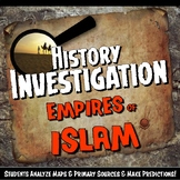 Empires of Islam Investigation History Lesson Stations or