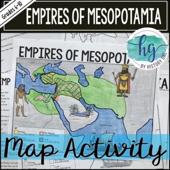 Empires of Mesopotamia Map Activity