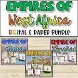 Empires of West Africa Bundle {Digital AND Paper}