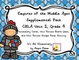 Empires of the Middle Ages Unit   CKLA Unit 2 Grade 4 Supplemental Kit