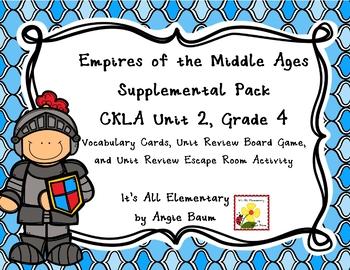 Empires of the Middle Ages Unit | CKLA Unit 2 Grade 4 Supplemental Kit
