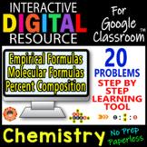 Empirical/Molecular Formulas/Percent Composition ~ DIGITAL