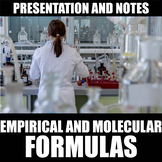 Empirical and Molecular Formulas Presentation and Notes |