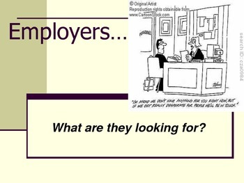 Employability & Interview Skills for Junior High FCS Career & Technology Courses
