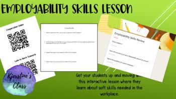 Employability Skills Lesson using QR Codes