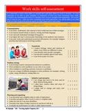 Employability / Work Skills Student Self Assessment