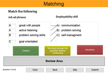 Employability skills Interactive Resource 3
