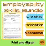 Job readiness and employability skills bundle- life skills /vocational education