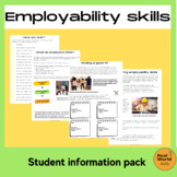 What are employability skills? Work experience and careers printables.