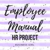 Employee Manual Human Resources (HR) Project