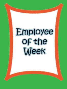 Employee of the Week