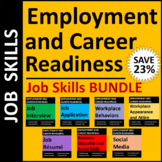 Employment & Career Readiness: Job Skills Activities  Print or Distance Learning