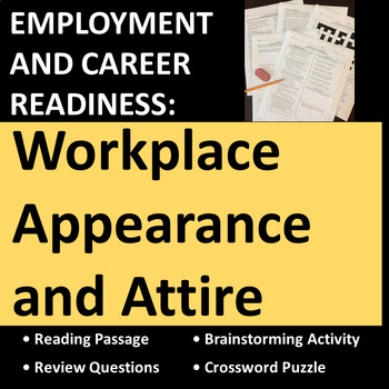 Employment & Career Readiness: Workplace Appearance and Attire Activities