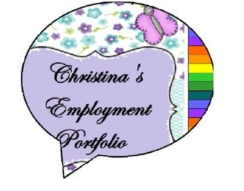 Customizable Employment & Counseling Portfolio Bundle
